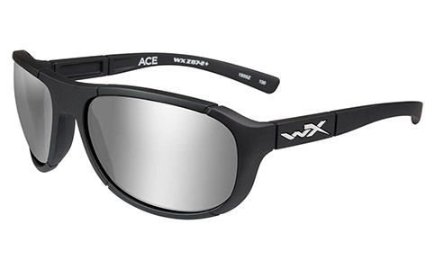 Polarized Silver Flash (Smoke Grey)/Matte Black