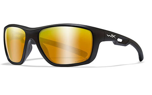 CAPTIVATE™ POLARIZED BRONZE MIRROR (COPPER BASE)/MATTE BLACK