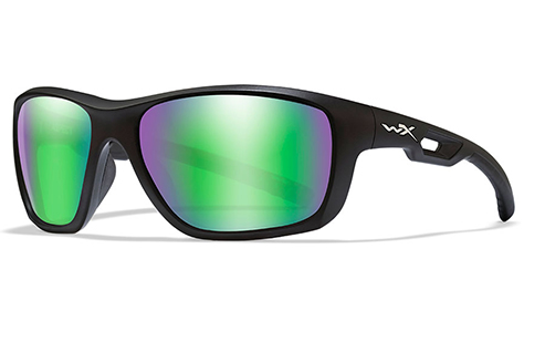 Polarised Emerald Mirror/Matte Black