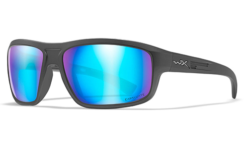 Captivate™ Polarized Blue Mirror/Matte Graphite