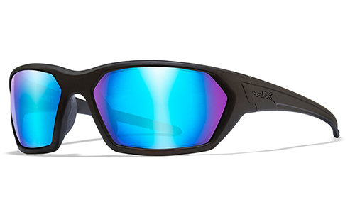 Polarized Blue Mirror/Matte Black