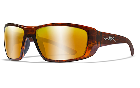 Polarized Venice Gold/Gloss Hickory Brown