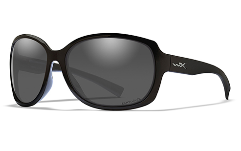 Captivate™ Polarized Grey/Gloss Black