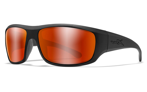 Polarized Crimson Mirror (Grey)/Matte Black