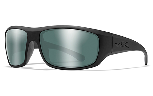 Polarized Green Platinum Flash/Matte Black