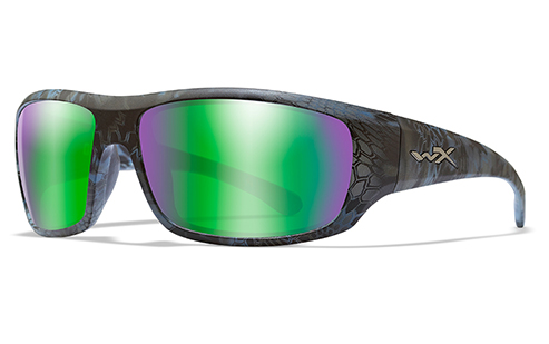 Polarized Emerald Mirror (Amber)/Kryptek Neptune