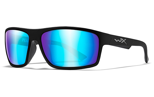 Polarized Lens Blue Mirror (Green)/Matte Black
