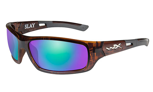 Polarized Emerald Mirror (Amber)/Gloss Demi