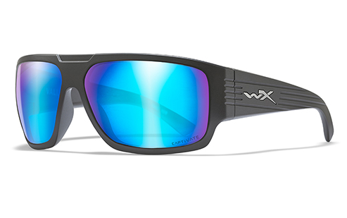 CAPTIVATE™ POLARIZED BLUE MIRROR (GREY BASE)/MATTE GRAPHITE