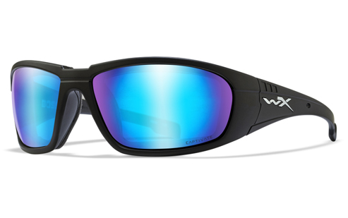 CAPTIVATE™ POLARIZED BLUE MIRROR (GREY BASE)/MATTE BLACK