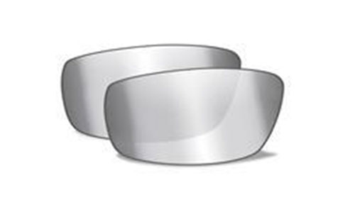 GREY SILVER FLASH LENSES