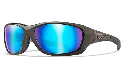 Polarized Blue Mirror (Green)/Black Crystal