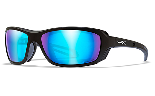 Captivate™Polarized Blue Mirror/Gloss Black