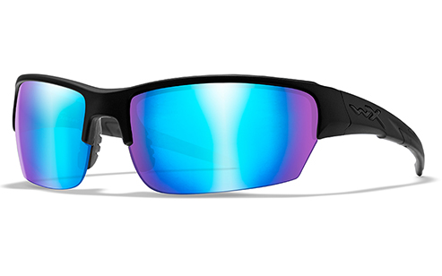 Polarized Blue Mirror Lens/Matte Black