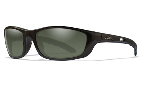Polarized Smoke Green/Gloss Black
