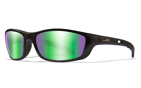 Polarized Emerald Lens/Gloss Black Frame