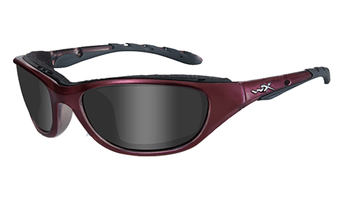 Liquid Plum Frame/Grey Lenses