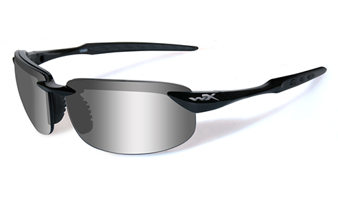 Polarized Lens Silver Flash (grey)/Gloss Black