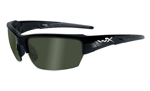 Polarized Smoke Green - Gloss Black