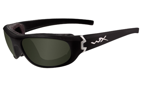 Polarized Smoke Green Lens/Gloss Black