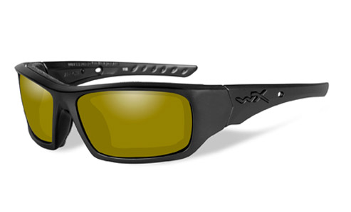 Polarized Yellow Lens/Matte Black Frame
