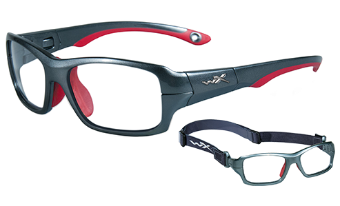 Standard Lens Clear/Dark Silver/Red