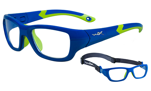 Standard Lens Clear/Royal Blue/Lime Green
