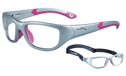 Standard Lens Clear/Silver/Magenta