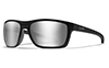 Polarized Grey Silver Flash/Matte Black