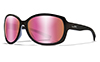 Captivate™ Polarized Rose Gold Mirror/Gloss Black