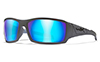 CAPTIVATE™ POLARIZED BLUE MIRROR (GREY BASE)/MATTE GREY