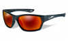Polarized Lens Crimson Mirror (grey)/Gloss Black